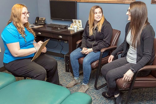 Chiropractic Erie PA Harborcreek Consultation